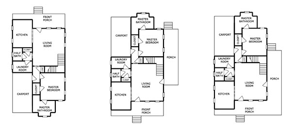 SugarBerry Home Floorplan