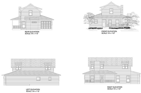 PLAN C Elevations